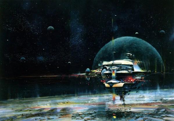 Science Fiction Illustrations by John Berkey - Sci-Fi Space Art (7)