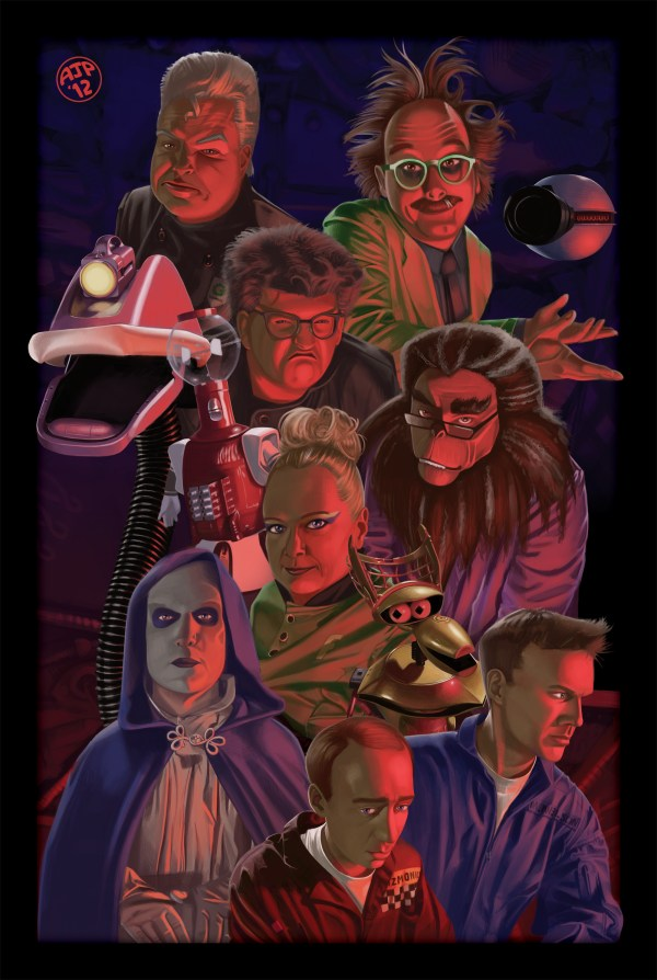 Space Oddities: MST3K Poster Art by Annamarie Pellow - Mystery Science Theater 3000