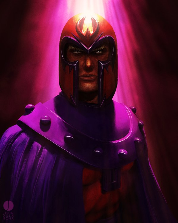 the creator by John Aslarona - magneto - x-men - Max Eisenhardt