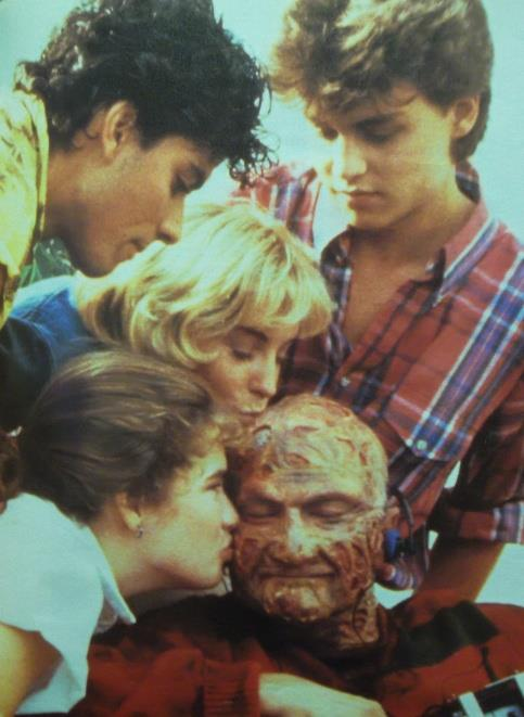 Nightmare on Elm Street behind the scenes photos, lobby cards, posters, promotional pictures