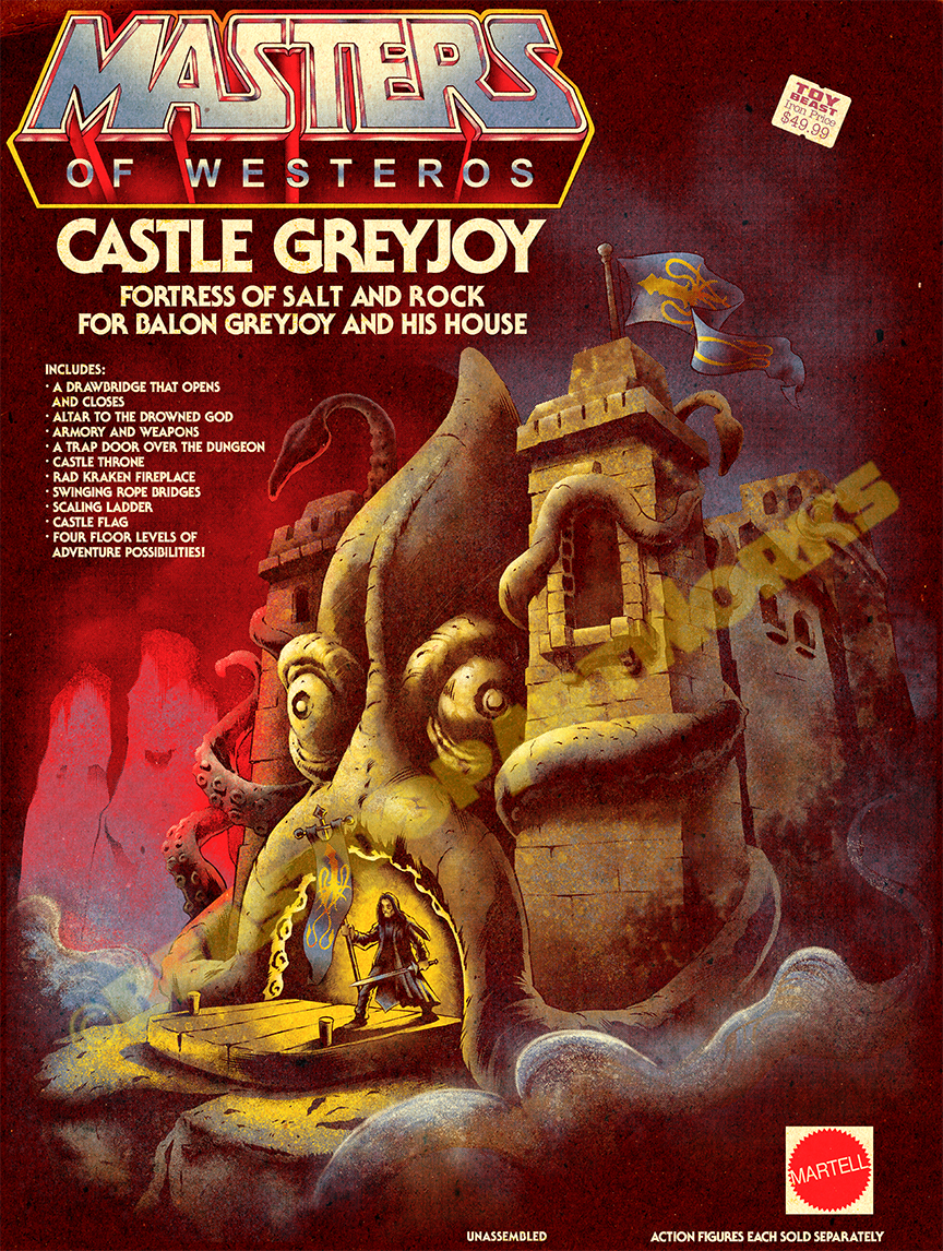Masters of Westeros: Castle Greyjoy [Game of Thrones x He-Man]