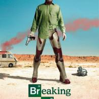 Iron Man x Breaking Bad Poster Mashup by BossLogic - Walter White, AMC, Television