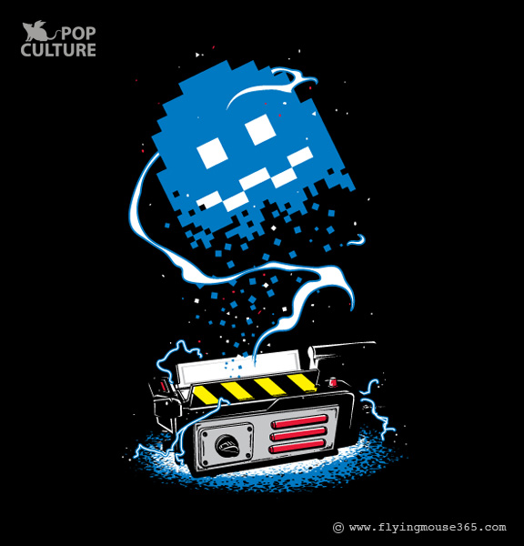 Pac-Man x Ghostbusters Mashup by FlyingMouse365 - Ghost Trap