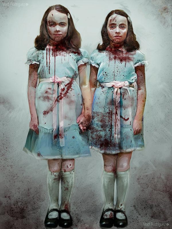 The Shining - Grady Twins by Vlad Rodriguez - Stanley Kubrick - Stephen King