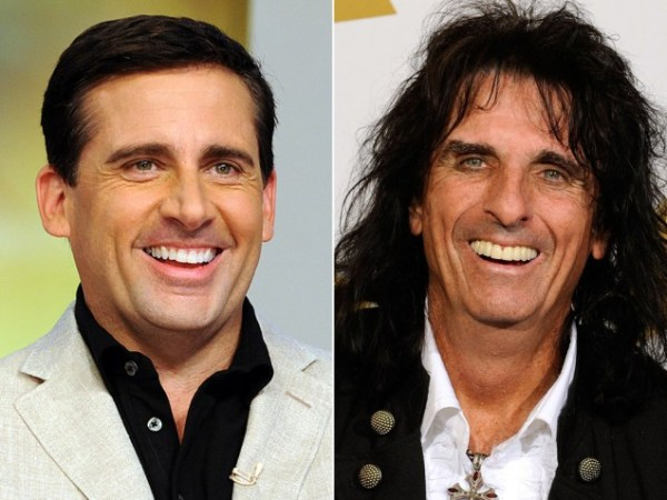 Steve Carell and Alice Cooper Separated at Birth