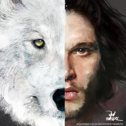 Game of Thrones - Jon Snow by Vlad Rodriguez