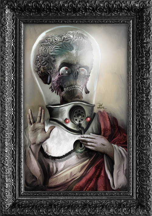 Mars Attacks art by Vlad Rodriguez