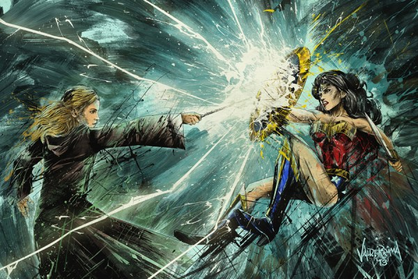 Wonder Woman vs Hermione Granger from Harry Potter by Fresh Noodle