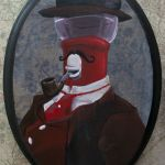 Tom Servo 19th Century Painting - MST3K