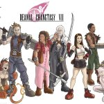 Community x Final Fantasy VII Mashup Art by Ben Deguzman