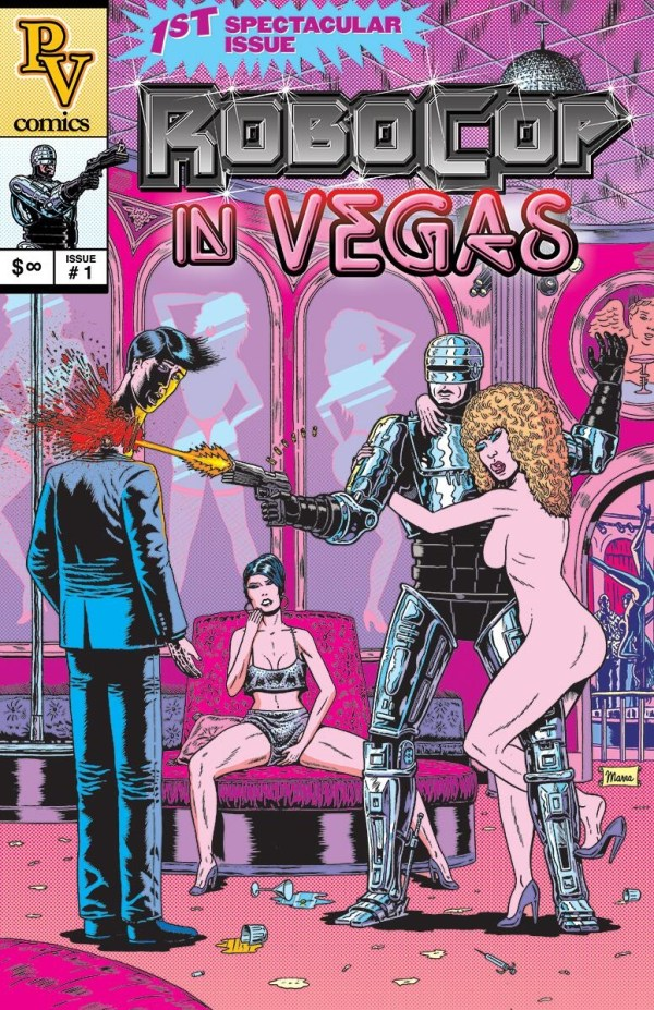 RoboCop in Vegas by Benjamin Marra