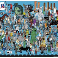 Where's Servo? MST3K Print by Steve Seck