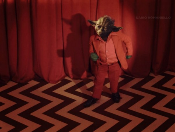 Star Wars x David Lynch's Twin Peaks - Yoda from Another Place