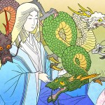 Daenerys Targaryen Japanese Woodblock Style - Game of Thrones