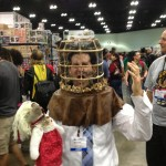 Nicolas Cage Wicker Man Cosplay Photo at Comikaze Expo - Not the Bees!