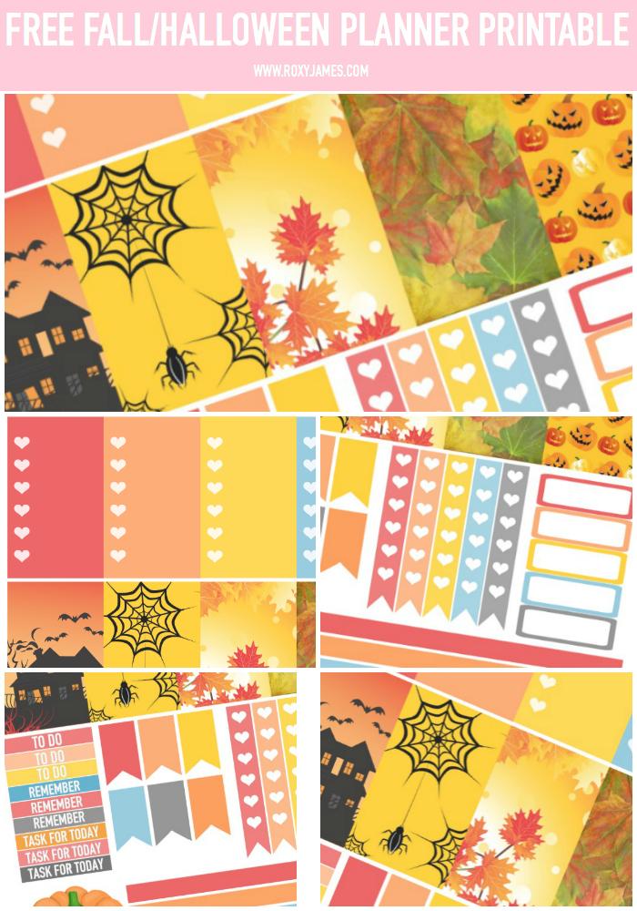 Fall Halloween FREE Printable