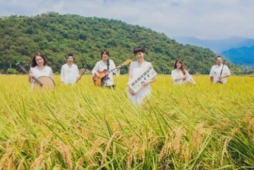 絲竹空爵士樂團 「十歲 拾穗」音樂會 宣傳照