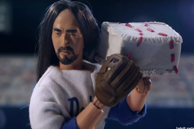 《Robot chicken》lampoons Steve Aoki
