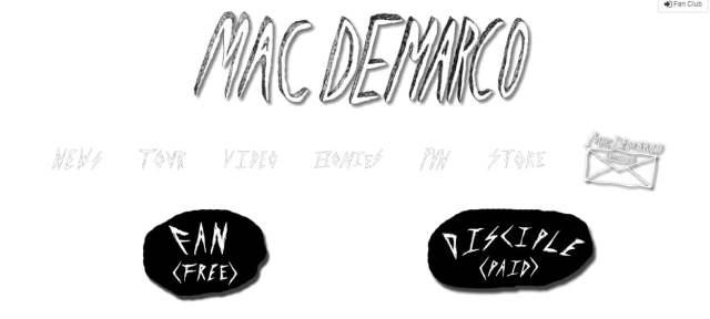 Mac DeMarco Fan Club