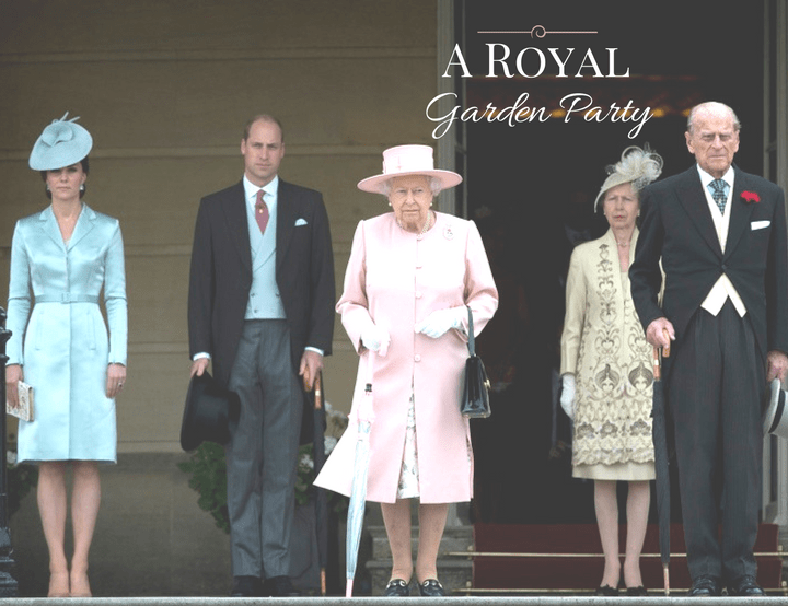 A Royal Garden Party at Buckingham Palace