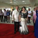 SONA 2015 gown for Marjorie Teodoro by RoyAnne Camillia