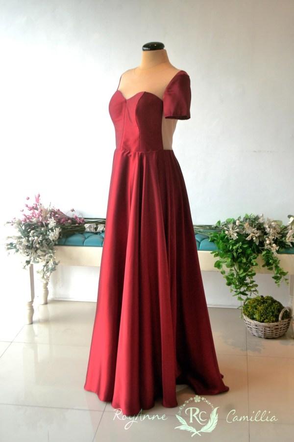 Marikina city manila royanne camillia bridal and debut for Wedding dress rental philadelphia