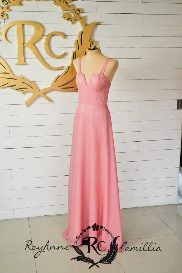 pink rental gown by royanne camillia - best rental gowns in manila