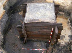 Jedna ze studni przebadanych w Kwiatkowie.
