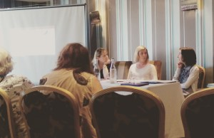 Danielle McLaughlin, Bairbre Leahy and Marie Gethins talk up the writing group movement