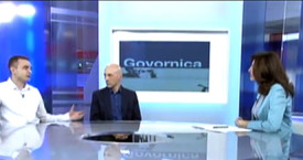Zvonimir Rudomino guest on TV show Govornica