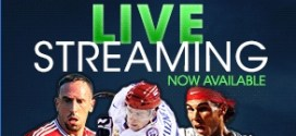 Live Streaming is available at Betway