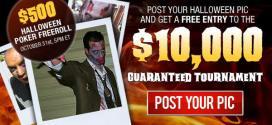 Special $500 Halloween Freeroll at BetOnline Poker