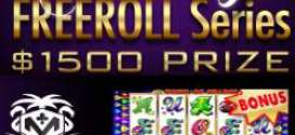 Holiday Freeroll $1500 Series IV starts today at Miami Club