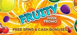 NextCasino Weekly Free spins Fruite offers
