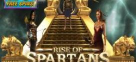 Exclusive 25 Free spins to try RISE OF SPARTANS at Mandarin Palace Casino