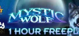 One hour free play Mystic Wolf Slot  at Slots Capital and DNC Rival