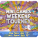 It's time for some crazy fun with CyberBingo Mini Games Weekend Tourney!