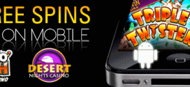 FREE SPINS at Slotocash and Desert Nights RTG Mobile