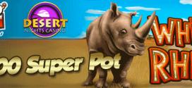 $2000 Super Pot at Slotocash and Desert Nights Casino RTG