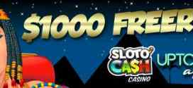 USD1000 FREEROLL at Slotocash and Uptown Aces this weekend!