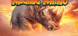 Get a 100 FREE spins now on Hit Slot Raging Rhino