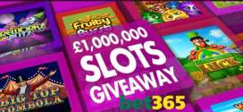Win cash in bet365bingo fun-filled £1,000,000 Slots Giveaway