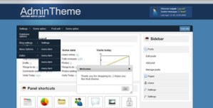 AdminTheme – Ultimate Admin Panel Solution