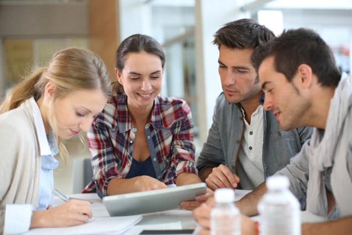 Tetapkan tujuan tim dengan diimbangi etos kerja dinamis