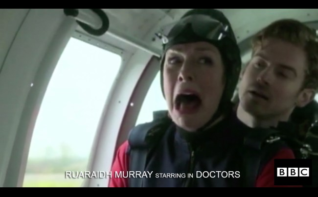 GC RUARAIDH MURRAY STARRING IN DOCTORS