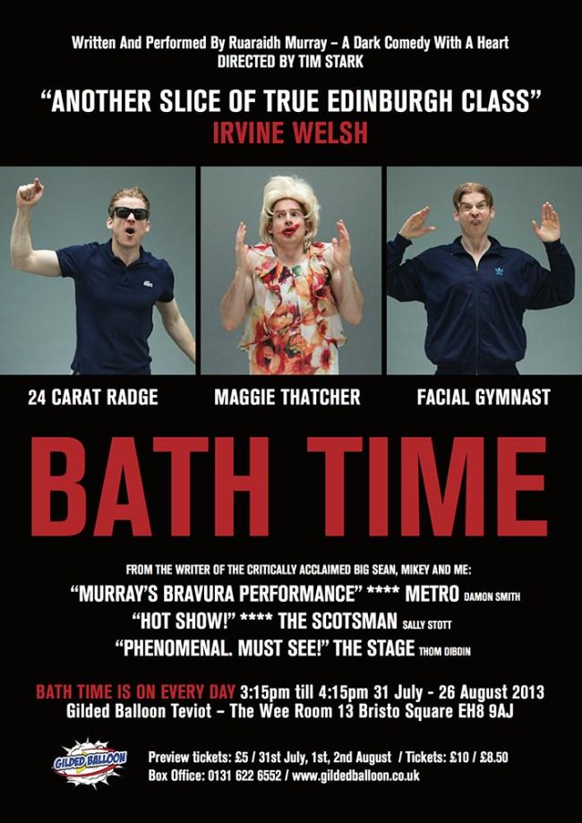 BATH TIME A3 POSTER final
