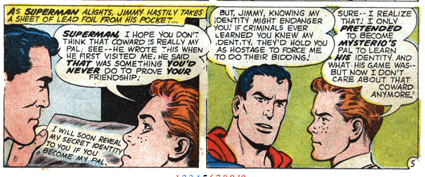 Whatever you say, Superman! You know best!