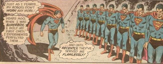 Superman Robot kick line!
