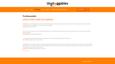 Unpluggables