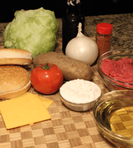 BurgerAndFriesIngredients
